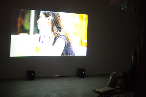 Sauli Sirviö: Never Going Home (our odyssey may end tomorrow or it could go on forever) (2012), installation view.